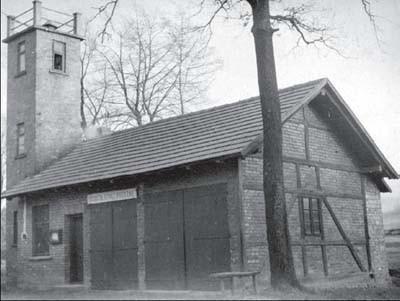 Stara strażnica w Dzięgielowie